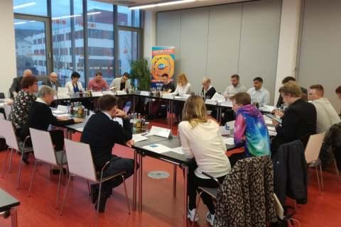 1,2,3 GO – Kennenlernrunde: Coaches & Projektteilnehmer