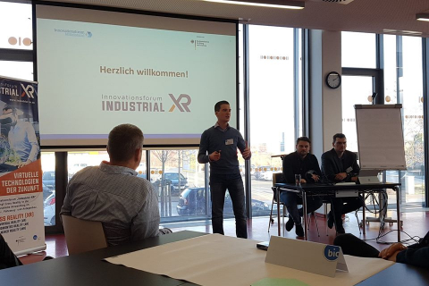 Innovationsforum Industrial-XR Workshop 1