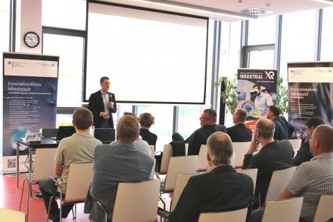 Innovationsforum Industrial-XR Abschlussveranstaltung